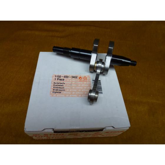 NEU Original Stihl Kurbelwelle 1132 030 0402 / 11320300402 / 1132-030-0402