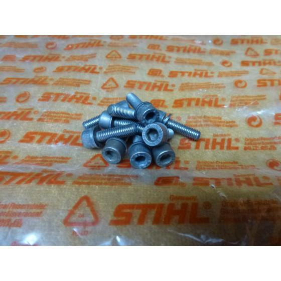 NEU Original Stihl 10x Schraube DIN912-M5x18Z1-10 9036 341 1010 / 90363411010 / 9036-341-1010