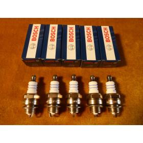 5x Original Bosch WSR6F WSR 6F  WSR-6F  Zündkerze