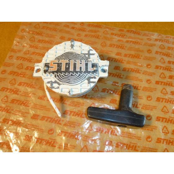 Original Stihl 020 AV Typ 1114 Starterdeckel alte Ausf. komplett 1114 190 0400 / 11141900400 / 1114-190-0400