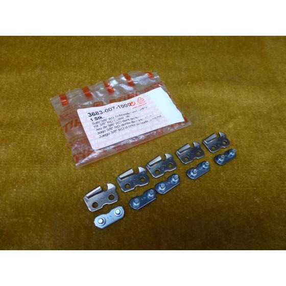 NEU Original Stihl 3/8  RD Duro 5x Schneidezahn re 3683 007 1000 / 36830071000 / 3683-007-1000