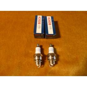 2x Original Bosch WSR6F WSR 6F  WSR-6F  Zündkerze