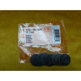 NEU Original Stihl 10x Scheibe 1123 195 9001 /...