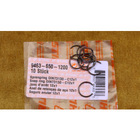 NEU Original Stihl 10x Sprengring (DIN73130)-C12x1 9463...