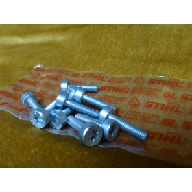 NEU Original Stihl 10x Schraube T27 IS-M5x20-12,9 9022...
