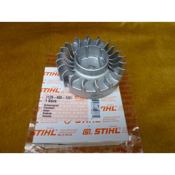 NEU Original Stihl 020T 020 MC 200 MS 200 MS 200T Schwungrad Lüfterrad 1129 400 1201 / 11294001201 / 1129-400-1201
