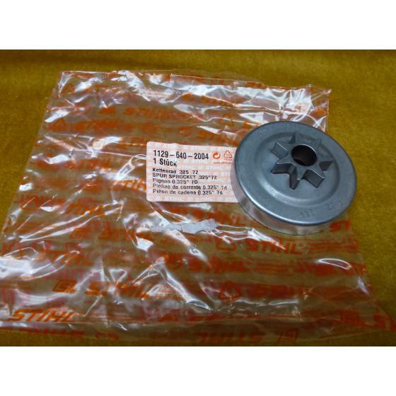 "NEU Original Stihl Kettenrad 0,325"" 7Z 1129 640 2004  / 11296402004 / 1129-640-2004"