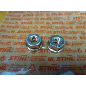 NEU Original Stihl 2x Mutter SW 17 DIN 6923-M10-8 9220...