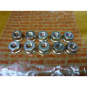 NEU Original Stihl 10x Mutter SW 17 DIN 6923-M10-8 9220...